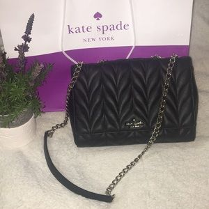 Kate Spade Quilted Chain Shoulder Bag Crossbody